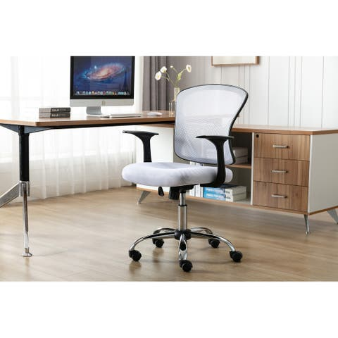Porthos Home Cyrus Swivel Office Chair, Mesh Back, Adjustable Height