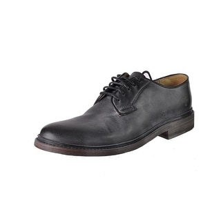 Frye Womens James Distressed Front Lace Oxfords - 11 medium (b,m)