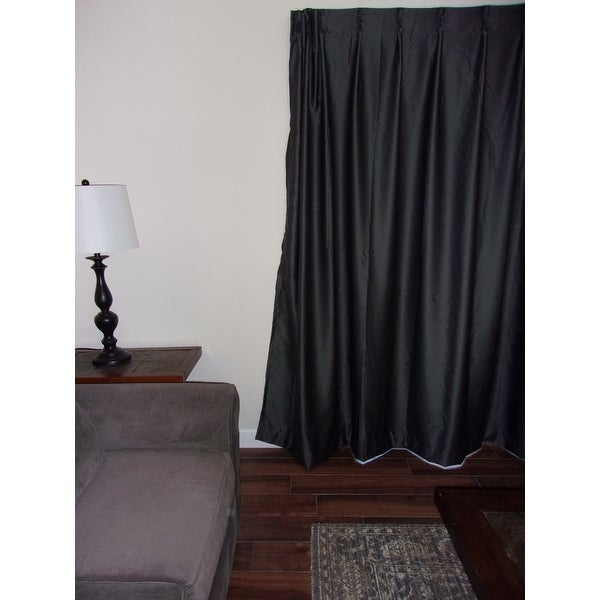 Shop Eclipse Thermal Blackout Patio Door Curtain Panel 100x84 On