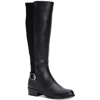 Link to Alfani Womens Kallumm Almond Toe Knee High Fashion Boots Similar Items in Women's Shoes