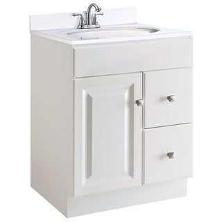 "Design House 545053 24"" Freestanding Single Vanity Cabinet Only - White"