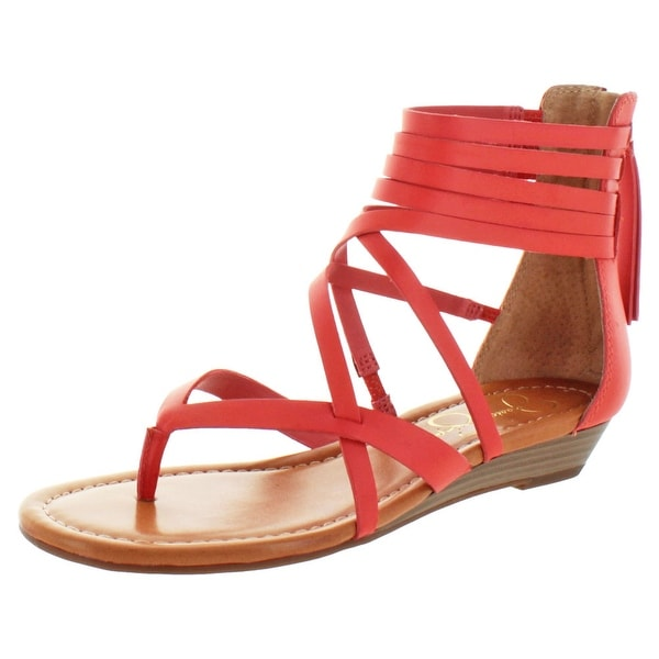 Jessica Simpson Roselen Women's Strappy Wedge Sandals