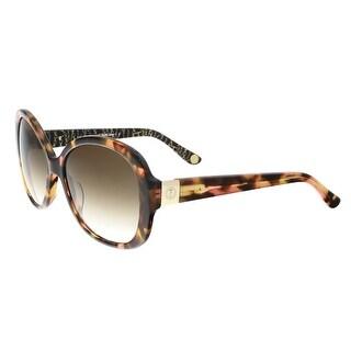Juicy Couture - Juicy 583/S 0S1H Pink Havana Square Sunglasses - 57-17-135