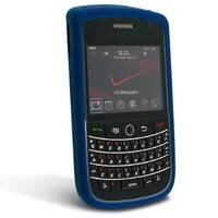 BlackBerry Tour 9630 Silicone Case - Dark Blue
