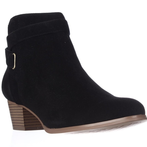 GB35 Oleesia Casual Ankle Boots, Black