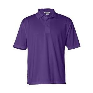 FeatherLite Moisture Free Mesh Sport Shirt - Purple - L