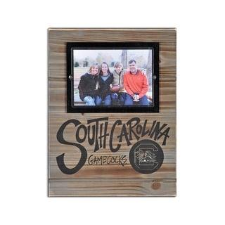 University of South Carolina Wood Plank Frame