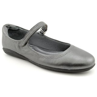 Walking Cradles Jane Round Toe Leather Mary Janes