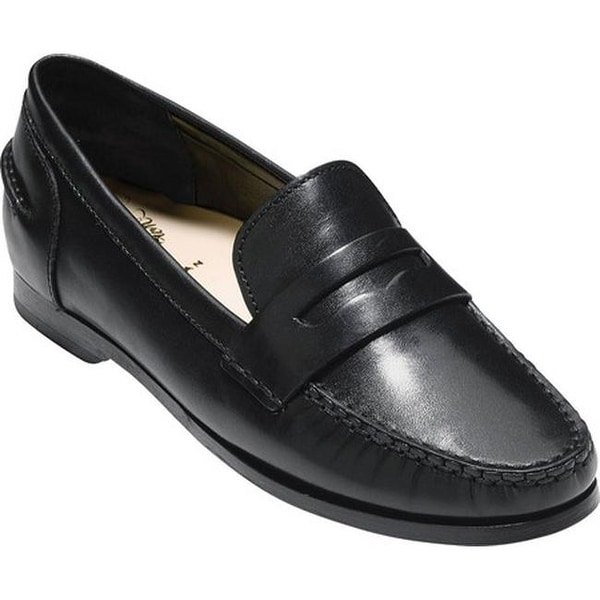 c5b3efdb0d3 Shop Cole Haan Women s Pinch Grand Penny Loafer Black Leather - Free ...