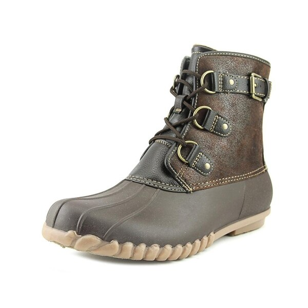 Wear.Ever. Fargo Women Dark Brown Mul Snow Boots