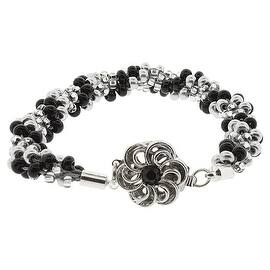 BeadSmith Kumihimo Bracelet Jewelry Kit, Do It Yourself, Silver & Black Twist|https://ak1.ostkcdn.com/images/products/is/images/direct/20122adb573b153500e1542cc2b8246600dfc006/BeadSmith-Kumihimo-Bracelet-Jewelry-Kit%2C-Do-It-Yourself%2C-Silver-%26-Black-Twist.jpg?impolicy=medium