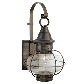 "Norwell Lighting 1609 Vidalia Onion Single Light 25"" Tall Outdoor Wall Sconce with Glass Shade (More options available)"