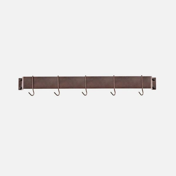Cuisinart CRBW-33ORB Chef's Classic 33-Inch Bar-Style Wall-Mount Pot Rack, Oil-Rubbed Bronze - Oil-rubbed Bronze