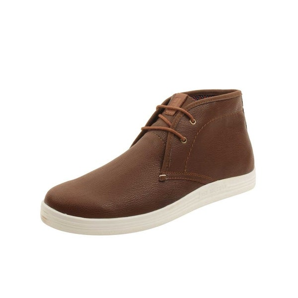 3da038737a Shop Ben Sherman Vaughn Chukka Sneakers in Cognac - Free Shipping ...