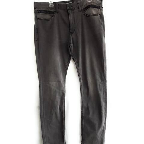 Express Men's Slim Jeans, Black, W40 L34 - W40 L34