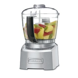 Cuisinart CH-4DCFR Elite Collection 4 Cup Chopper/Grinder, Silver, Certified Refurbised