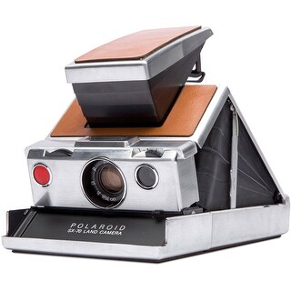 Impossible Polaroid SX-70 Original Camera (Tan Leather)