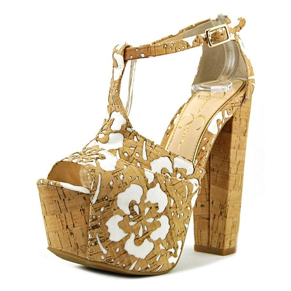 8a4579c7d31 Shop Jessica Simpson Dany Natural White Sandals - Free Shipping On ...
