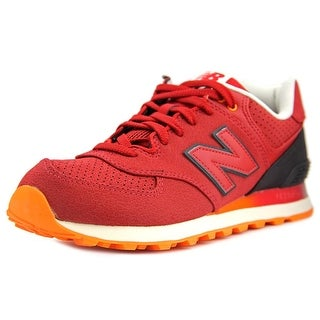 New Balance ML574 Men Round Toe Canvas Fashion Sneakers