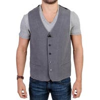 Costume National Costume National Gray cotton blend casual vest