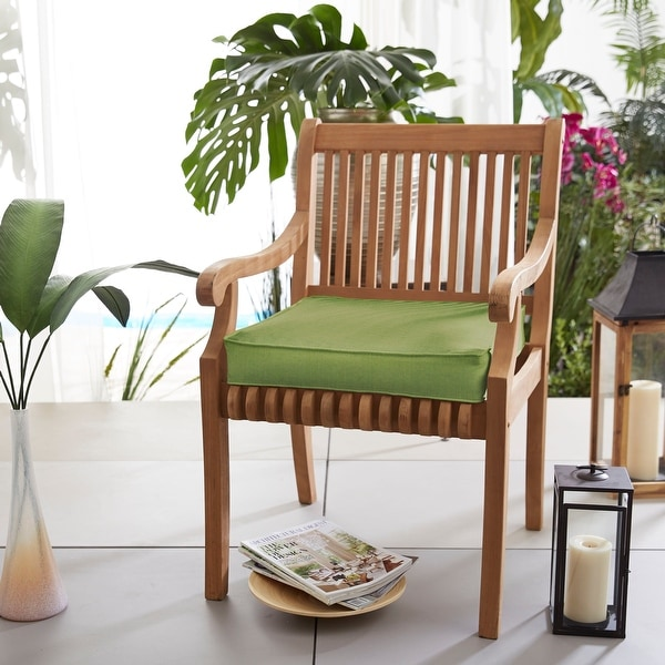 Sunbrella Indoor/ Outdoor 19-inch Chair Cushion. Opens flyout.
