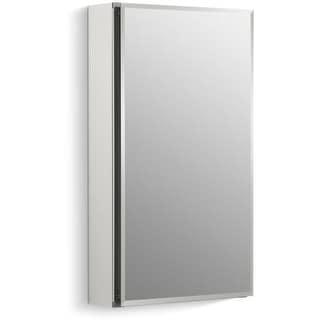 """Kohler K-CB-CLC1526FS 15"""" x 26"""" Single Door Reversible Hinge Frameless Mirrored Medicine Cabinet"""