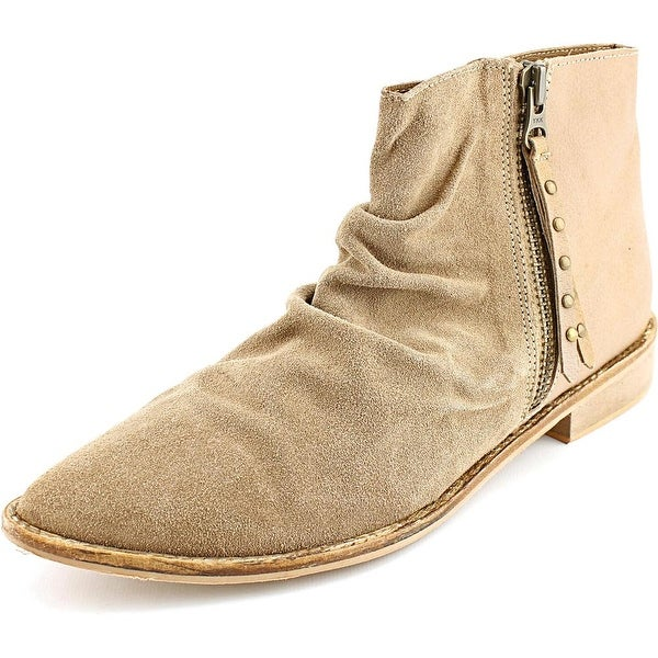 Charles By Charles David Brody Women Pointed Toe Suede Tan Ankle Boot