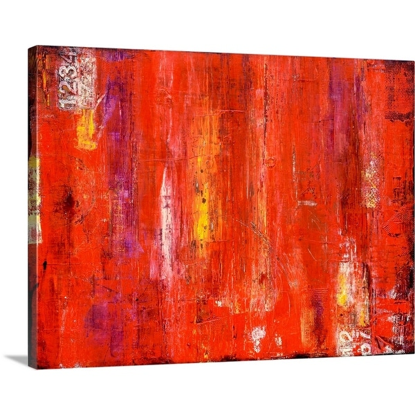 """""""Roadhouse Red"""" Canvas Wall Art"""