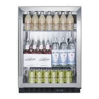 Summit SCR610BL Summit SCR610BL - 24-Inch SS Commercial Beverage Center