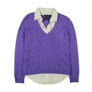Lauren Ralph Lauren Womens Cashmere Exclusive Sweater