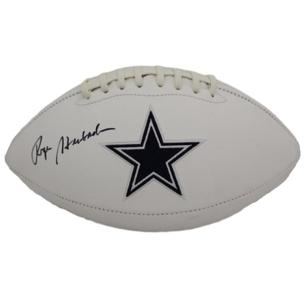 26a57be0ef0 Shop Roger Staubach Autographed Dallas Cowboys Logo Football JSA - Free  Shipping Today - Overstock - 21870483