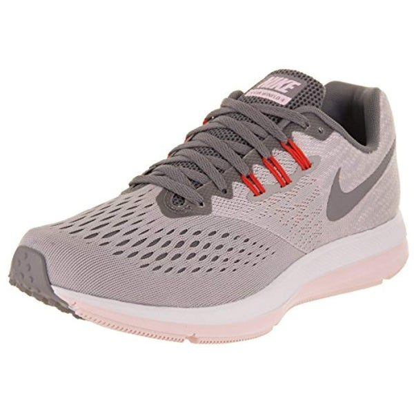 8d11d5fc0414 Shop Nike Women s Air Zoom Winflo 4 Running Shoe Grey (9) - Free Shipping  Today - Overstock - 25631262