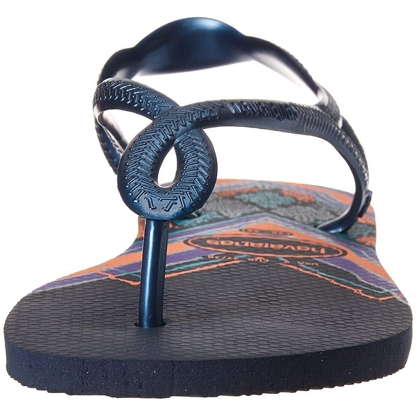 333d7d32f8e3 Shop Havaianas Women s Luna Print Sandal Navy Blue - Free Shipping On  Orders Over  45 - Overstock - 27654526