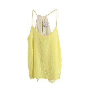 Bar Iii Lemonade T-Back Reversible Camisole XS