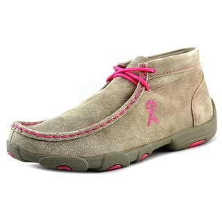 Twisted X Driving Moc EW Round Toe Suede Chukka Boot
