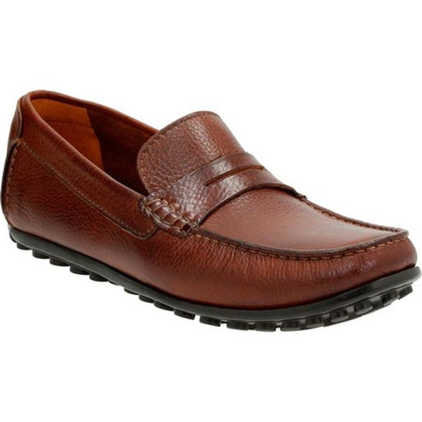 7551f8c77e0 Shop Clarks Men s Hamilton Way Penny Loafer Cognac - Free Shipping ...