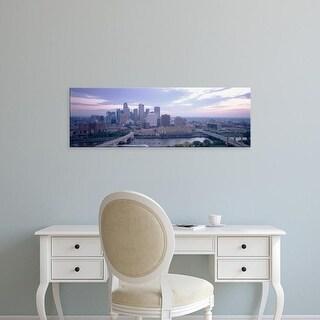 Easy Art Prints Panoramic Images's 'Buildings In A City, Minneapolis, Minnesota, USA' Premium Canvas Art