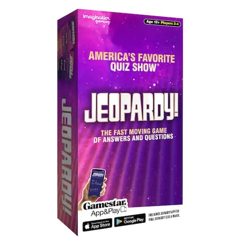 Imagination Games Jeopardy Game - America's Favorite Quiz Show!