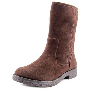 Rocket Dog Tundra Women Round Toe Synthetic Brown Ankle Boot