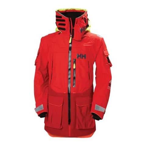 Helly Hansen Men's Aegir Ocean Jacket Alert Red