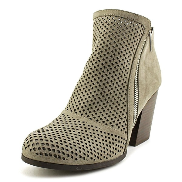 Bar III Womens Penny Fabric Closed Toe Ankle Fashion Boots