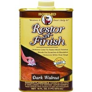 Howard RF6016 Restor-A-Finish, Dark Walnut, 16 Oz