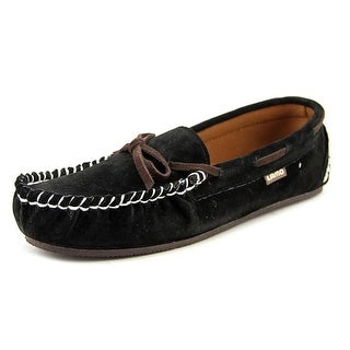 Lamo Sabrina Kids Moc Toe Leather Boat Shoe