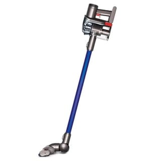 Refurbished Dyson DC44 Animal Bagless Cordless Stick Vacuum: Blue/Iron - blue and iron