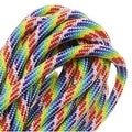 Paracord 550 / Nylon Parachute Cord 4mm - Tie Dye Rainbow (16 Feet/4.8 Meters) - Thumbnail 0