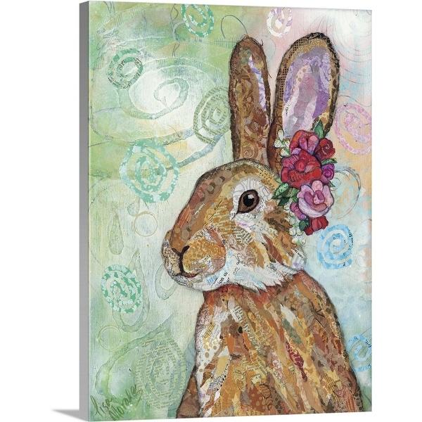 """""""Rabbit"""" Canvas Wall Art"""