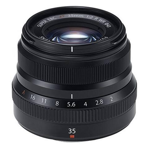 Fujifilm X Series Fujinon XF 35mm f/2 WR Lens - Black