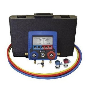 Mastercool MSC99872-A R-134a Digital Manifold Complete Kit with Set of 3- 72in. Hoses