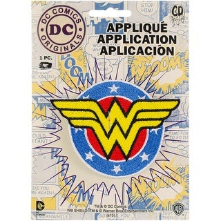 C&D Visionary Dc Comics Patch-Wonder Woman Shield