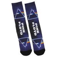 Pink Floyd Adult Dark Side Of The Moon Logo Sublimated Crew Socks 1 Pair